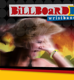 Billboard Bands Wristbands